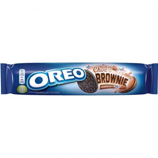 Oreo Doppelkekse Choco Brownie 154g MHD:30.12.21