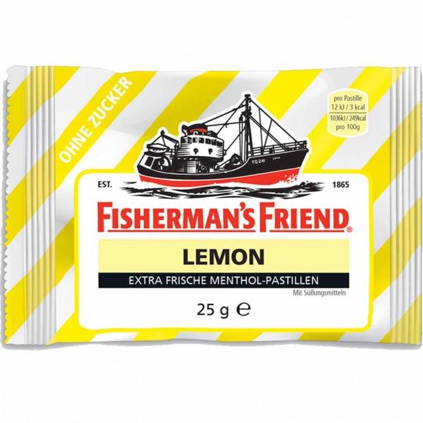 Fishermans Friend LEMON ohne Zucker 3x 25g=75g MHD:30.12.23