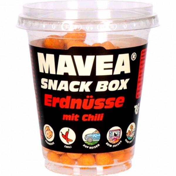 Mavea Snack Box Erdnüsse mit Chili 150g MHD:9.3.22
