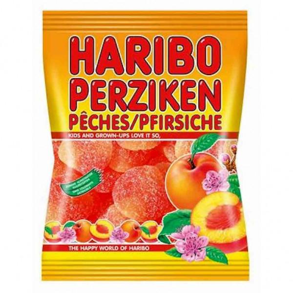 4x Haribo Pfirsiche á 500g=2 kg Fruchtgummi MHD: 8/18