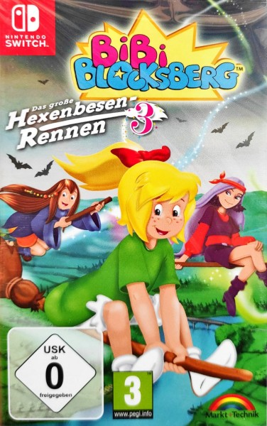 Bibi Blocksberg Das große Hexenbesen Rennen 3 Nintendo Switch