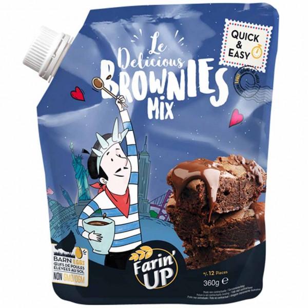 Farin'Up Brownies Mix 360g MHD:24.9.22