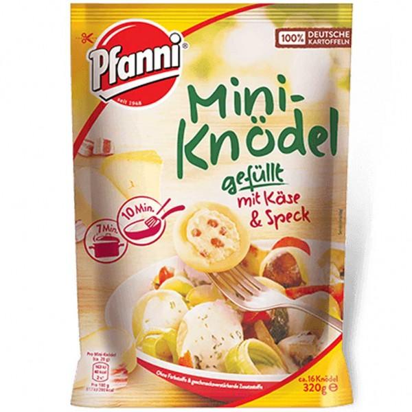 7x Pfanni Mini-Knödel Käse Speck á 320g=2,24kg MHD:11.1.19