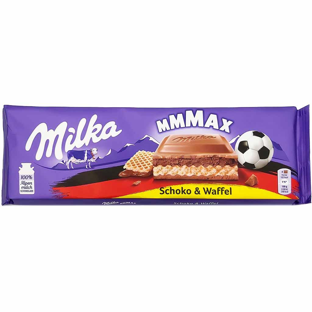 Milka Waffel