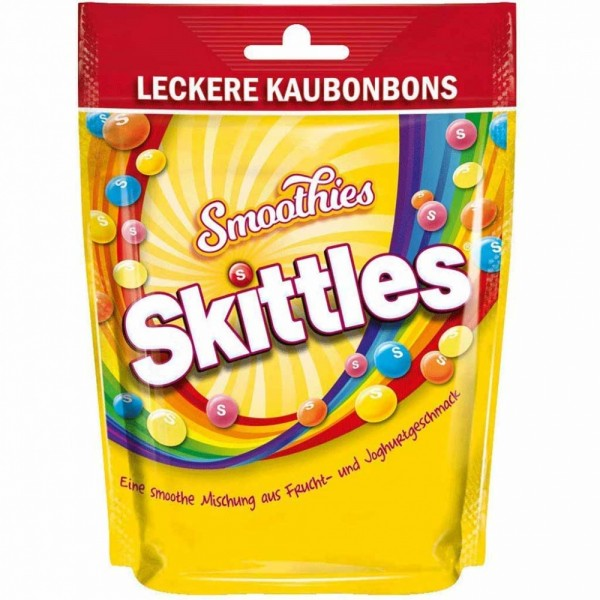Skittles Smoothies 160g MHD:8/21