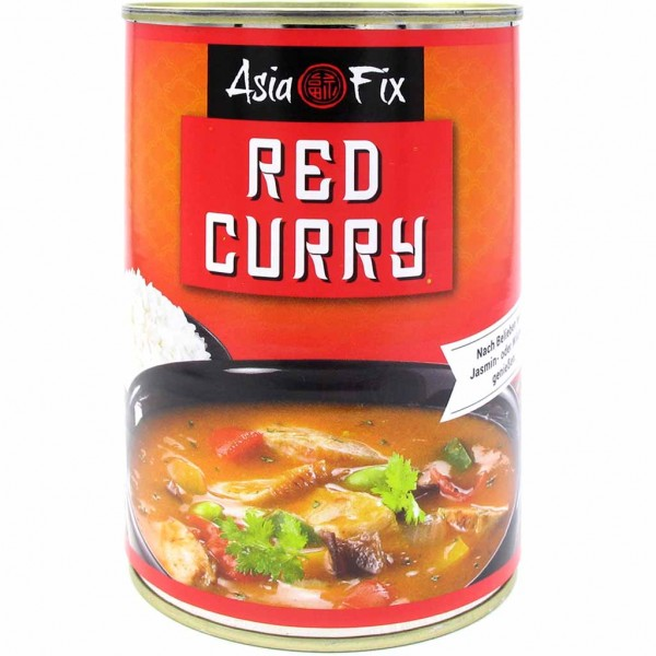 Buss Asis Fix Red Curry 400g MHD:13.1.24