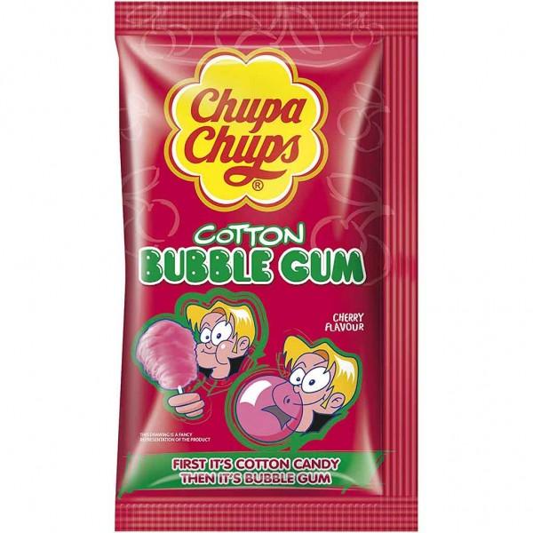 14x Chupa Chups Cotton Bubble Gum Cherry á 11g=154g MHD:5/21