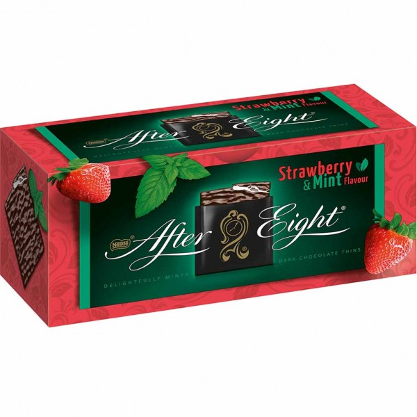 After Eight Strawberry & Mint 200g MHD:30.1.22
