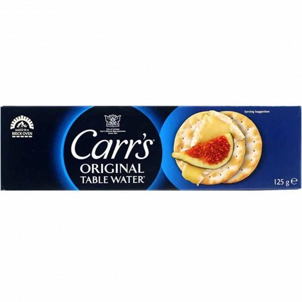 Carr's Cracker Original Table Water 125g MHD:23.7.22