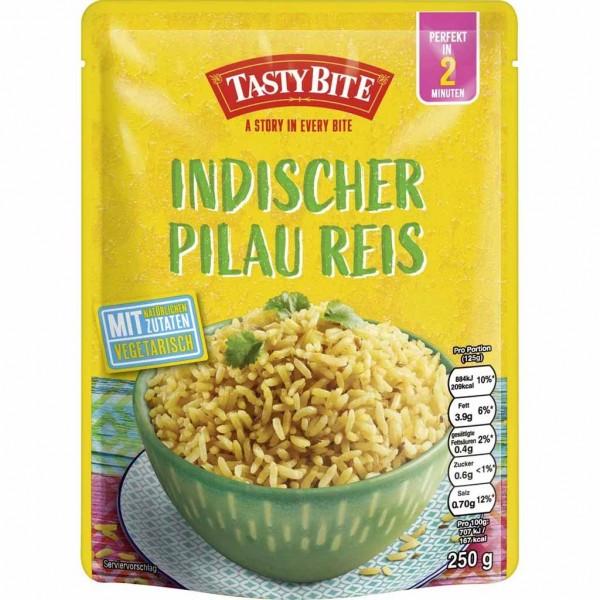 6x Tasty Bite Indischer Pilau Reis á 250g=1500g MHD:26.4.22