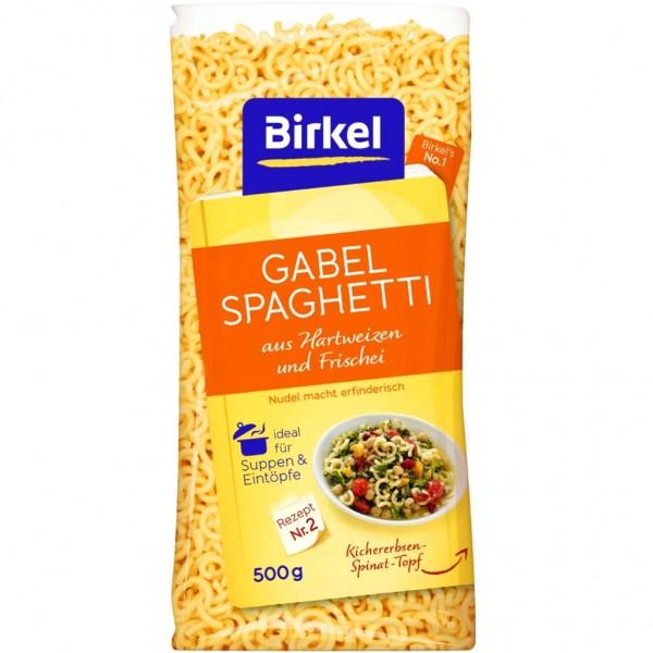 3x Birkel Gabel Spaghetti á 500g=1,5kg MHD:12.2.21