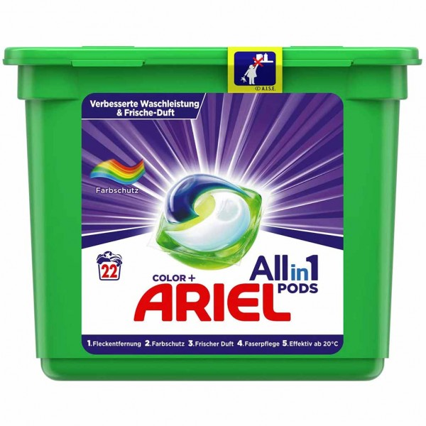 Ariel All-in-1 Pods Color+ 22WL 578,6g