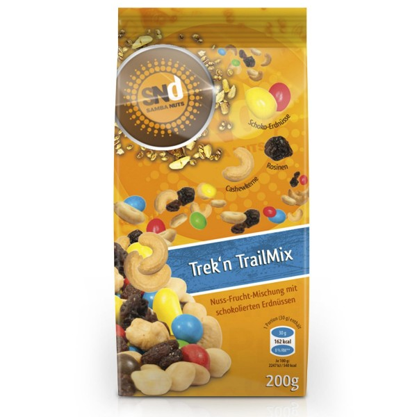 Samba Nuts Trek´n Trail Mix 200g MHD 10.03 2018