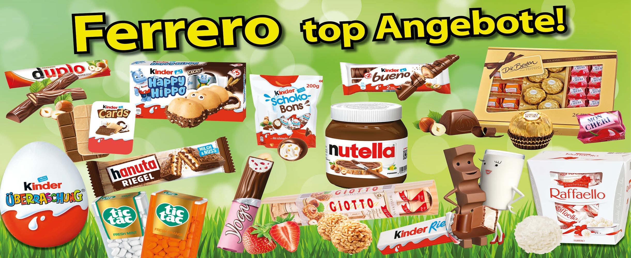 Ferrero top Angebote